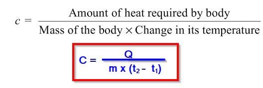 Specific-heat