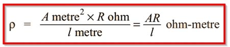 Unit-of-Resisitivity