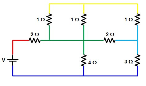 Basic Electrical | Series and Parallel circuit | Series Parallel circuit 20