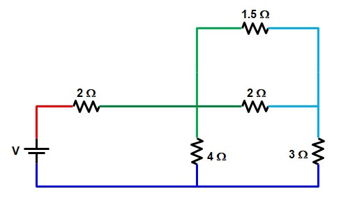 Basic Electrical | Series and Parallel circuit | Series Parallel circuit 23