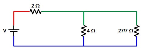 Basic Electrical | Series and Parallel circuit | Series Parallel circuit 25