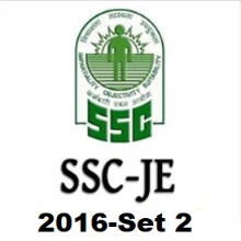 SSC JE 2016 Electrical question paper (Set-2)