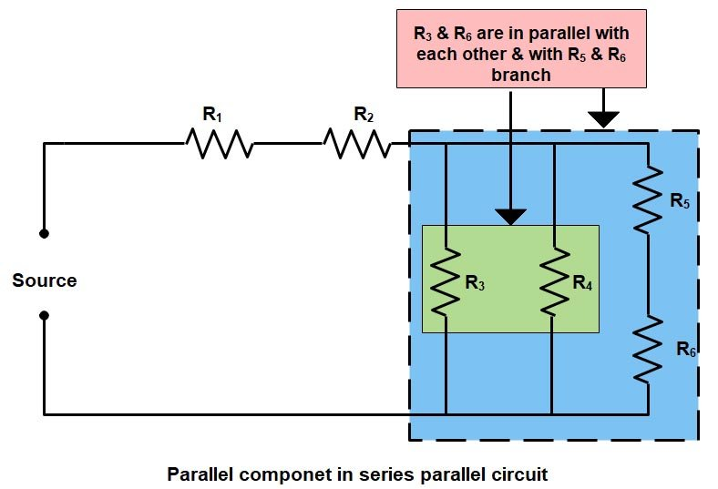 Basic Electrical | Series and Parallel circuit | Series Parallel circuit 2
