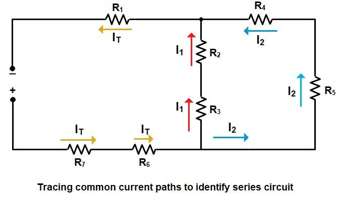 Basic Electrical | Series and Parallel circuit | Series Parallel circuit 3
