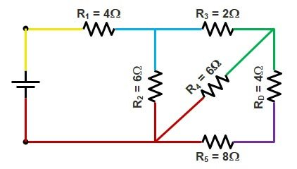 Basic Electrical | Series and Parallel circuit | Series Parallel circuit 14