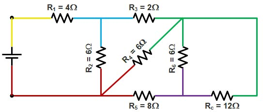 Basic Electrical | Series and Parallel circuit | Series Parallel circuit 13