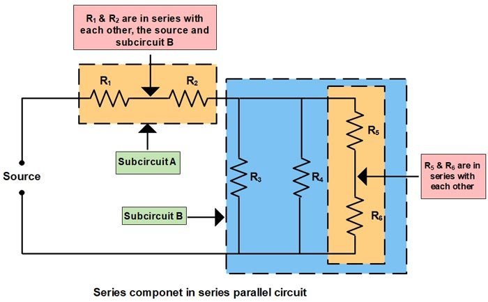 Basic Electrical | Series and Parallel circuit | Series Parallel circuit 1