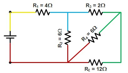 Basic Electrical | Series and Parallel circuit | Series Parallel circuit 15