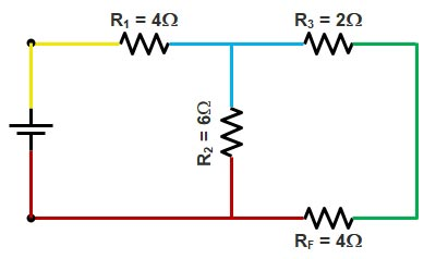 Basic Electrical | Series and Parallel circuit | Series Parallel circuit 16