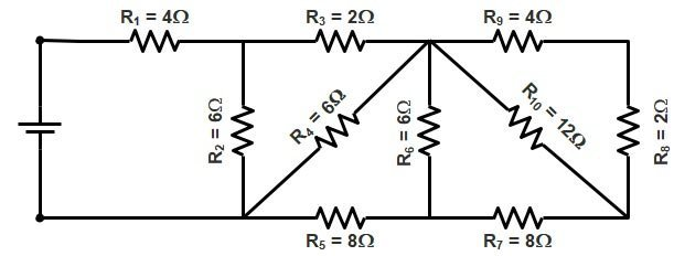 Basic Electrical | Series and Parallel circuit | Series Parallel circuit 9