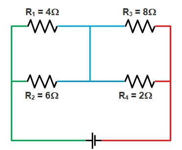 Basic Electrical | Series and Parallel circuit | Series Parallel circuit 7