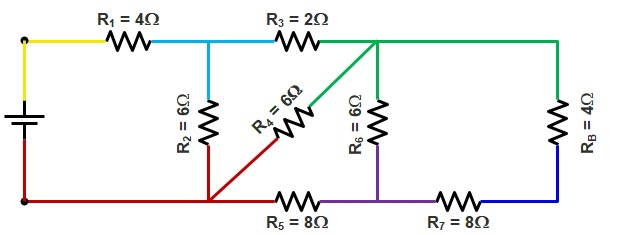Basic Electrical | Series and Parallel circuit | Series Parallel circuit 12