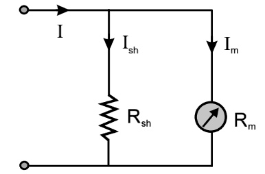 An ammeter with a range of 0 to 100 µA has an internal resistance of 100 Ω.